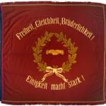 historische Fahne
